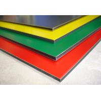 Quality Polyester Paint Aluminum Sign Panels Multi Colors With High Peeling Strength for sale