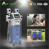 China Fat freezing coolshape cryolipolysis cold body sculpting machine with 4handles wholesale
