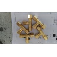 China Brass Tee, Custom CNC Brass Connector Products, made in China professional manufacturer on sale