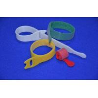 China Multi - Color Wire Hook And Loop Closure , Hook And Loop Cable Ties wholesale
