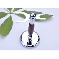 Quality Safety razor and brush stand faux , rose wood razor stand imitation for sale