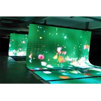 Quality IP54 Rental Flexible LED Display Full Color Aluminum Convenient Foldable Design for sale