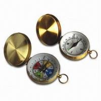 China Brass Compass with Needle Locker wholesale