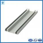 China Solar panel aluminium frame electrophoresis extruded aluminum profiles T4 / T5 / T6 wholesale