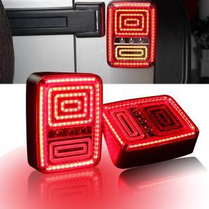 China Rear LED Tail Lights Brake Reverse Turn Singal Lamp for Jeep Wrangler JK 07-16 wholesale