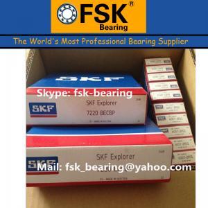 China China Cheap Price Angular Contact Ball Bearings SKF Nylon Cage 7220BECBP wholesale