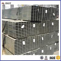 China Rectangular galvanized Hollow Section Steel Tube steel pipe for sale wholesale