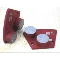 Quality Two Round Trapezoid Concrete Grinding Segment for sale
