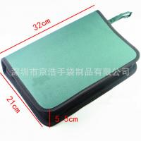 Quality Home Small Soft Canvas Tool Bag With14 Elastic Bands 32*21*5.5 Cm for sale