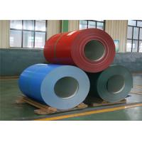 China 3003 H24 color coated aluminum coil for table panel/ wall/roofing/insulation wholesale