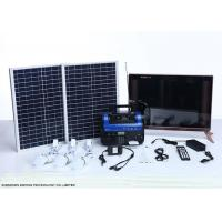 China High End Residential Solar Power Systems Build In Rechargeable Battery wholesale