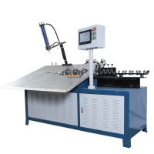 China PLC  Motorised Carbon Steel Wire Bending Machine PLC Control wholesale