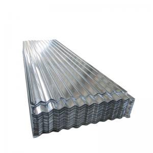 China Powder Coated Corrugated Galvanized Steel Roofing Noise Reduction Zero Spangle on sale