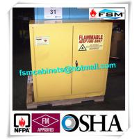 China Laboratory Industrial Safety Cabinets , Flammable Liquid Chemical Safety Storage Cabinet wholesale