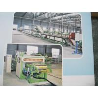 China Vehicle Tire Recycling Rubber Machinery , Outer Tyre Surface Cutting Line For Motorcycle wholesale