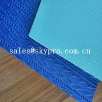 China Durable eva shoe sole blue and green 3D printing 2-6 mm Thickness wholesale