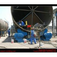 China Automatic Vessel Pipe Welding Rotator / Welding Roller Beds With Steel Roller wholesale