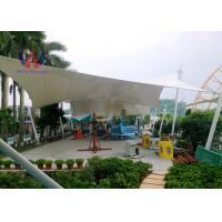 China Steelwork Stretching Tensioned Membrane Structures For Playground Sunshade Shed wholesale
