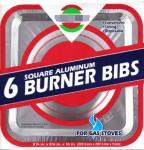 China Square Gas Burner Bib Gas Burner Bibs covers Gas stove aluminum foil cleaning plate wholesale