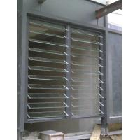 China Glass Adjustable Shutter Window / Meeting Room Interior Vertical Venetian Blinds wholesale