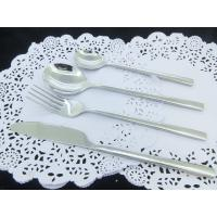 Wholesale High quality cutlery set wih mirror polishing knife fork spoon cheap price 18/8 from china suppliers