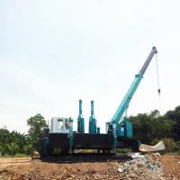China High Piling Speed No Vibration Hydraulic Static Pile Driver wholesale