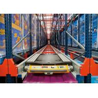 China Fitted Adjustable Shuttle Pallet Racking System Pallet Shuttle Racking System wholesale