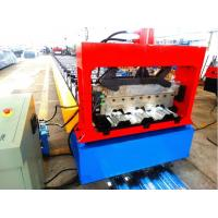 China High Speed Metal Deck Roll Forming Enquipment Color Steel With PLC System wholesale