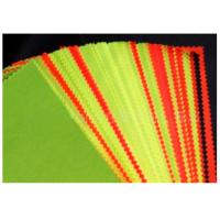 China Red Fluorescent Fabric Water Oil Resistance Combed Yarn Type For Clothing wholesale