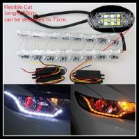 China Flexible Switchback LED daytime running light Strip Light for Headlight Sequential Flasher wholesale