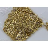 Buy cheap Shiny Golden Zipper Bottom Stop Replacement , Brass Metal Zipper End Stop from wholesalers