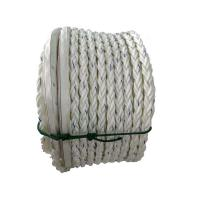 China Eye Splice Polypropylene Monofilament Rope , Hollow Braided Poly Rope Dia 48mm X 220m Length wholesale