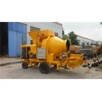 China Divided Concrete Mixer Machine Concrete Mixer Trailer Isolation Chamber Sealing Structure on sale
