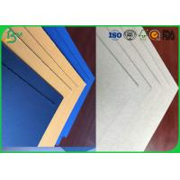 China Grade A 1.0mm 1.5mm or Other Thickness Dyed Grey Board With FSC Certification For Packing wholesale