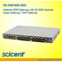 Buy cheap asterisk gateway with 20 gsm channel voip gateway,  gsm gateway from wholesalers