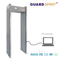China LED Light Bars multi zone door frame metal detector Bank Access Control With Battery wholesale