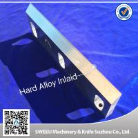 Highly Processed Carbide Cutting Inserts / Plastic Grinder Blades D2 Material for sale