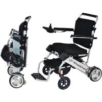 China Lightweight Handicapped Folding Electric Wheelchair wholesale