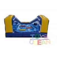 China 0.55mm PVC Customized City Inflatable Slip N Slide / Water Slide 2 Years Warranty wholesale