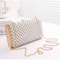 China Fashion ladies dinner bag hot sale women clutch bag crystal evening bag wholesale