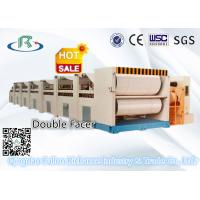 China Corrugated Cardboard Carton Making Machine: Double Facer For Paperboard Making wholesale