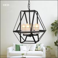 China Iron Lamp, Iron Pendant Lamp, Iron Candle Pendant Lamp. Iron Cage Pendant Lamp, Iron Moder wholesale