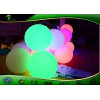 China  Colored Inflatable Lighting Decoration , Decorative Inflatable Ball With led Light  for sale