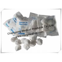Round Non woven Gauze Dressing  Balls Absorb For Medical Healthcare Cosmetic