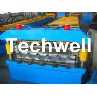 Quality Metal Trapezoidal Roof Panel Roll Forming Machine for Making Trapezoidal Roof Panel for sale