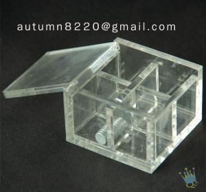 China BO (6) acrylic storage box wholesale