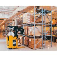 China Corrosion Protection Automated Pallet Racking System / Metal Shelving System Powder Coating Surface wholesale
