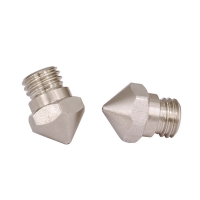 China 13*9mm MK10 3D Printer Nozzle Stainless Steel hole diameter 0.5mm wholesale