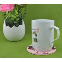 China Lovely Girl 2d/3d Silicone Cup Coaster / Heat Resistant Table Placemat For Promotion Gift on sale