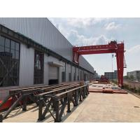 China Factories / Material Stocks LH Electric Hoist Type Overhead Crane Double Girder wholesale